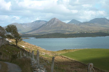 Letterfrack, connemara self catering